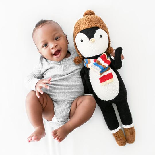 "cuddle+kind: Everest the Penguin - regular (20"")"