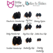 Little Lopers Bow: Sky (All Styles)