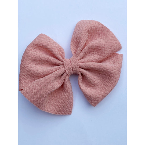 Little Lopers Butterfly Bow: French Rose (All Styles)