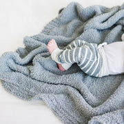Saranoni Bamboni Receiving Blanket: Gray