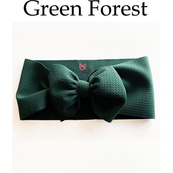Little Lopers Bow: Green Forest