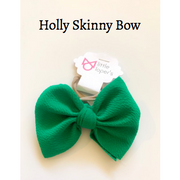 Little Lopers Bow: Holly (All Styles)