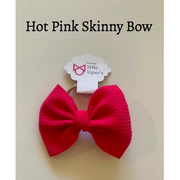 Little Lopers Bow: Hot Pink (All Styles)
