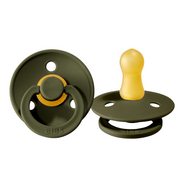 BIBS Pacifiers: Classic Round - Hunter Green