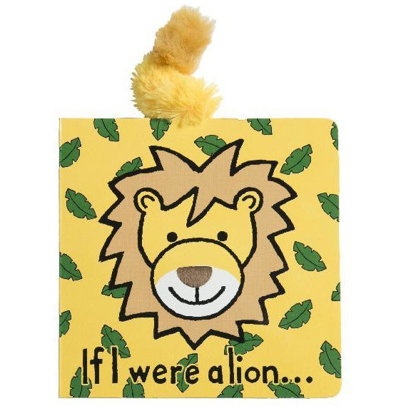 Jellycat Book: If I Were a Lion