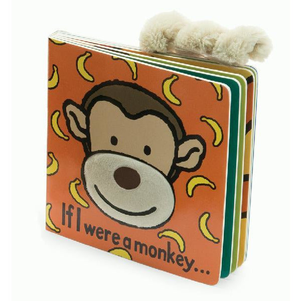 Jellycat Book: If I Were a Monkey