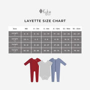 Kyte Baby Zippered Footie: Slate