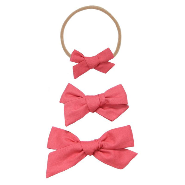 Lou Lou and Company- Lipstick Classic Bow- Mini