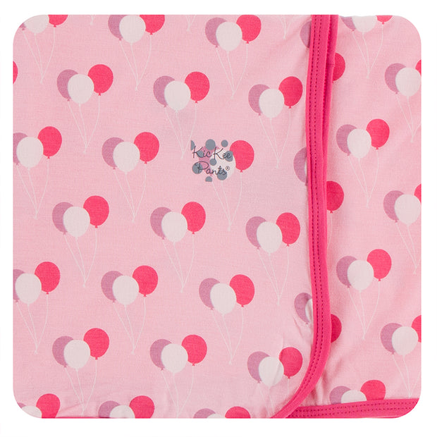 Kickee Pants Swaddling Blanket: Lotus Birthday