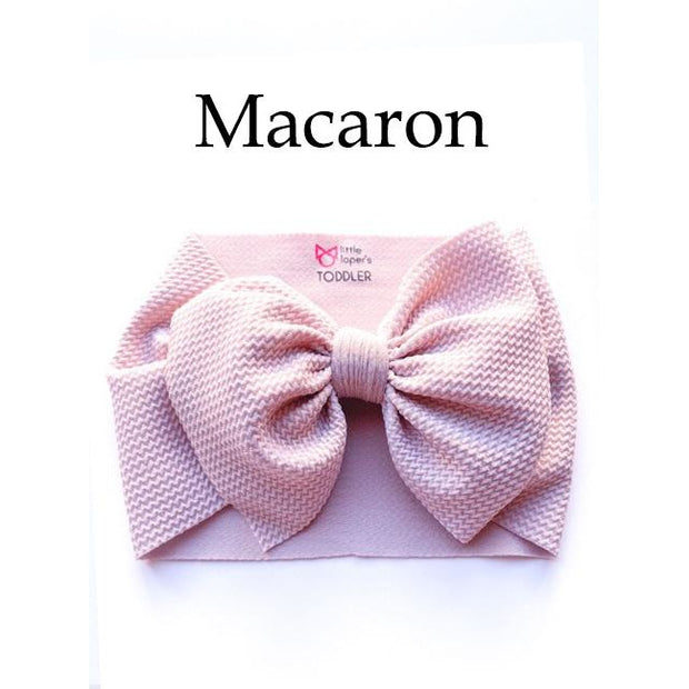 Little Lopers Bow: Macaron (All Styles)
