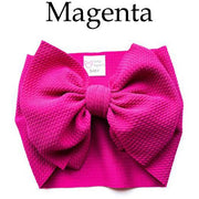 Little Lopers Bow: Magenta (All Styles)