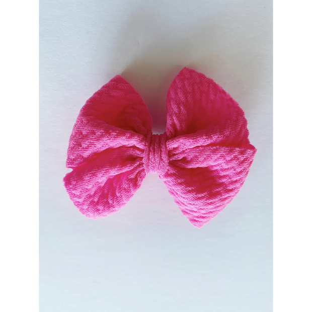Little Lopers Butterfly Bow: Malibu (All Styles)