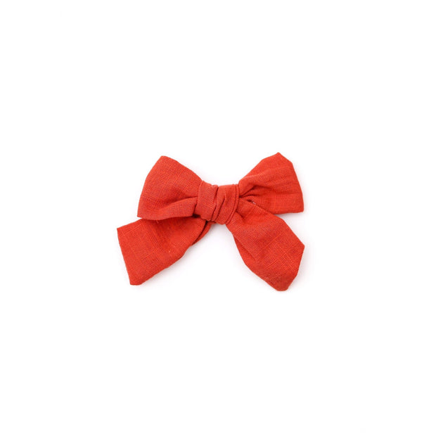 Little Lopers Mini Vintage Linen Darling Bows: All Colors