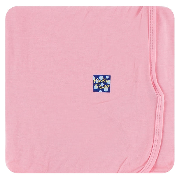 Kickee Pants Swaddling Blanket: Solid Lotus
