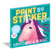 Paint by Sticker Kids: Unicorns and Magic