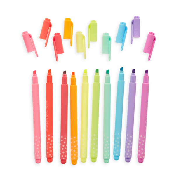 OOLY: Pastel Mints Scented Flextip Highlighters