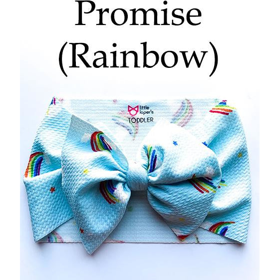 Little Lopers Bow: Promise (All Styles)