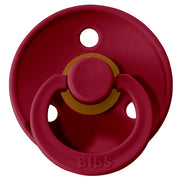 BIBS Pacifiers: Classic Round - Ruby