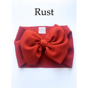 Little Lopers Bow: Rust (All Styles)