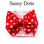 Little Lopers Bow: Sassy Dot (All Styles)