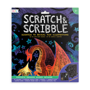 OOLY: Scratch & Scribble Art Kit - Fantastic Dragons