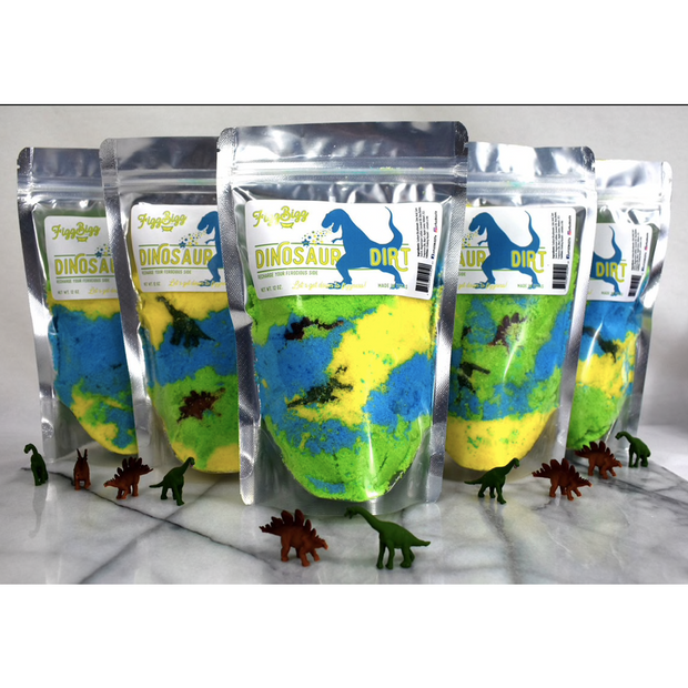 Fizz Bizz Kids Bath Salts: Dinosaur Dirt