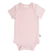 Kyte Baby Short Sleeve Bodysuit: Blush