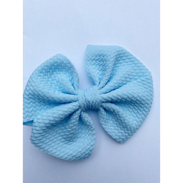 Little Lopers Butterfly Bow: Sky (All Styles)