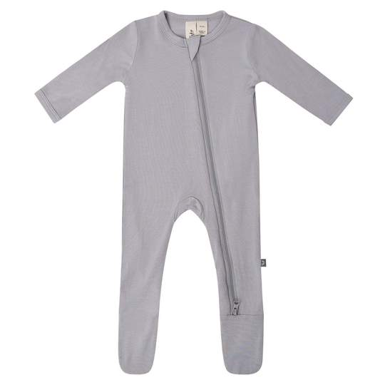 Kyte Baby Zippered Footie: Storm