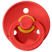 BIBS Pacifiers: Classic Round - Strawberry