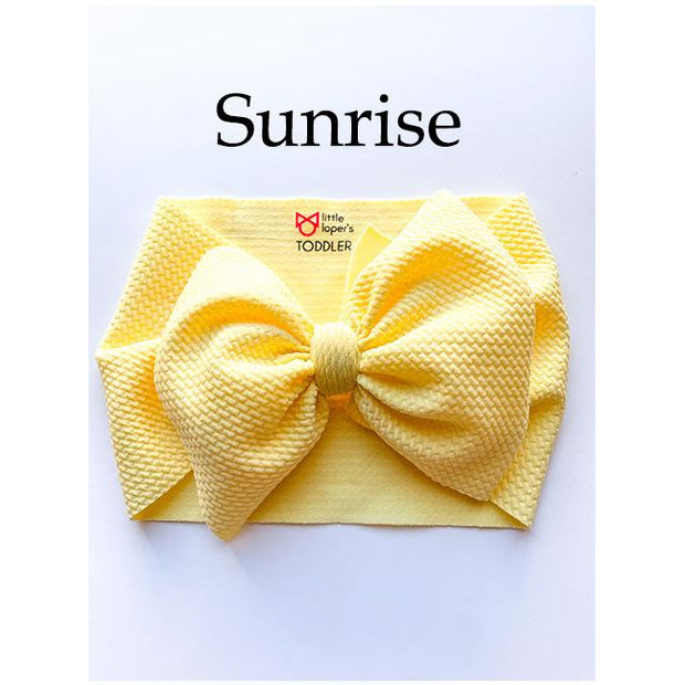 Little Lopers Bow: Sunrise (All Styles)
