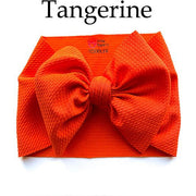 Little Lopers Bow: Tangerine (All Styles)