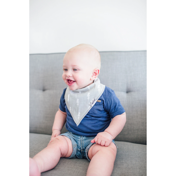 Copper Pearl Bandana Bib Set: Wild
