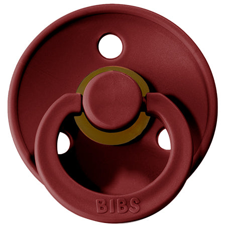 BIBS Pacifiers: Classic Round - Wine