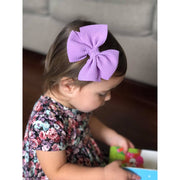 Little Lopers Butterfly Bow: Powder Blue (All Styles)