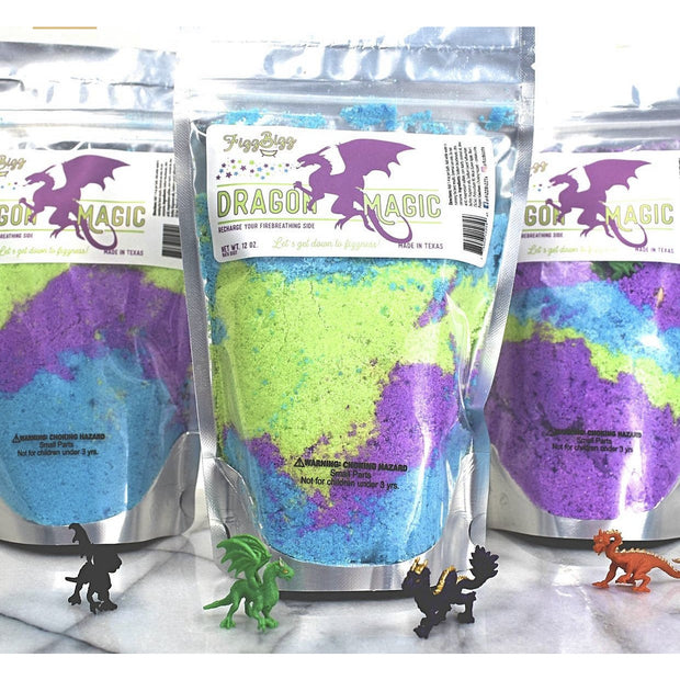 Fizz Bizz Kids Bath Salts: Dragon Magic