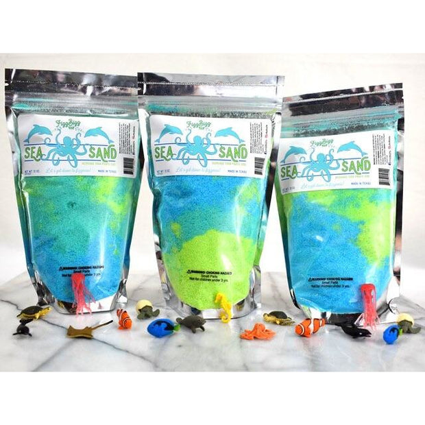 Fizz Bizz Kids Bath Salts: Sea Sand