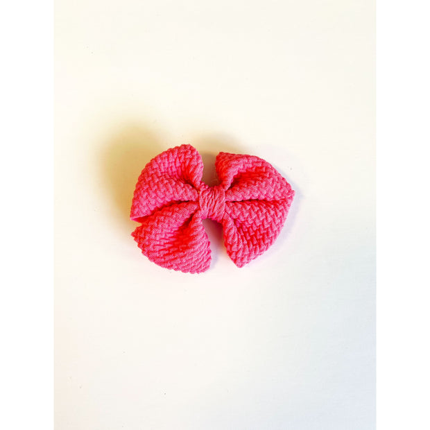 Little Lopers Butterfly Bow: Watermelon (All Styles)