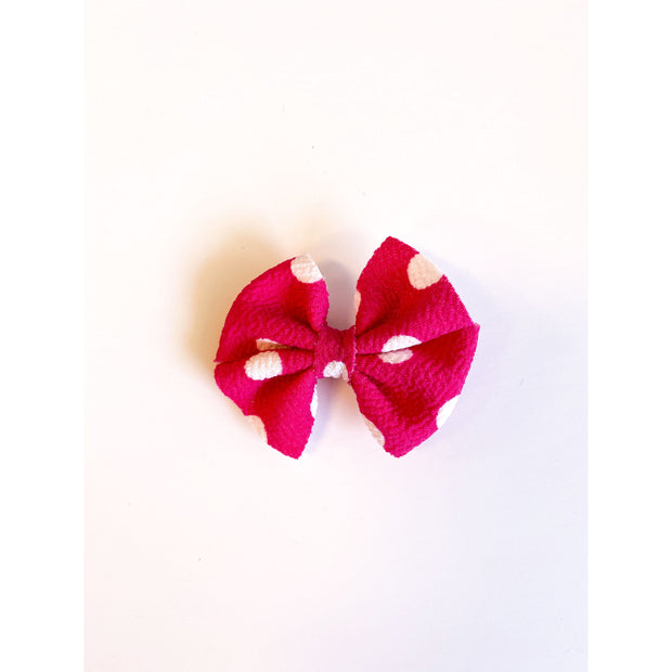 Little Lopers Butterfly Bow: Sweet Dots (All Styles)