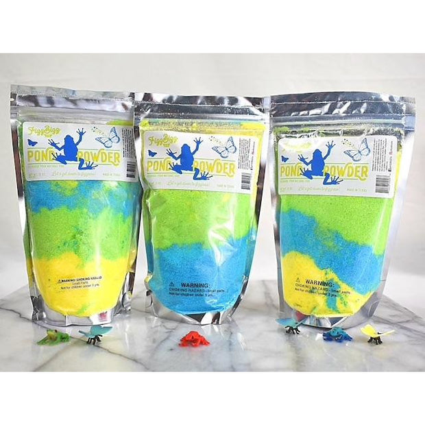 Fizz Bizz Kids Bath Salts: Pond Powder