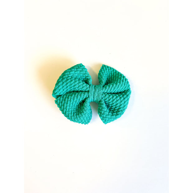 Little Lopers Butterfly Bow: Emerald (All Styles)
