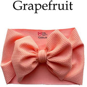 Little Lopers Bow: Grapefruit (All Styles)