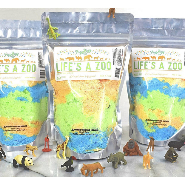 Fizz Bizz Kids Bath Salts: Life's a Zoo