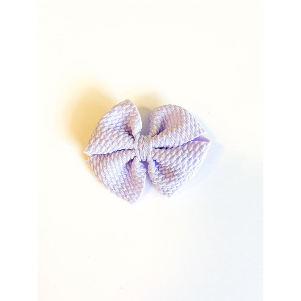 Little Lopers Butterfly Bow: Lilac (All Styles)