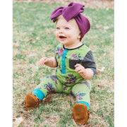 Little Lopers Bow: Plum (All Styles)