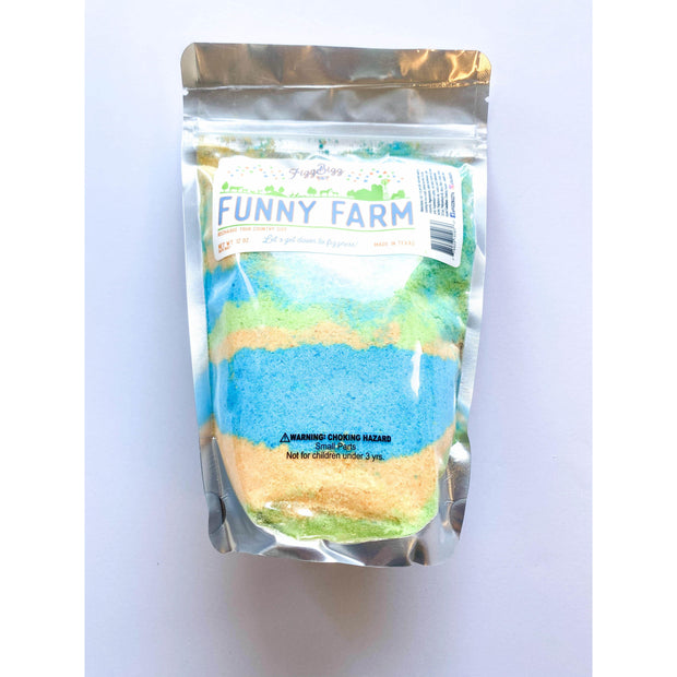 Fizz Bizz Kids Bath Salts: Funny Farm Dirt