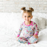 Little Sleepies Two-Piece Pajama Set: Sweet Treats