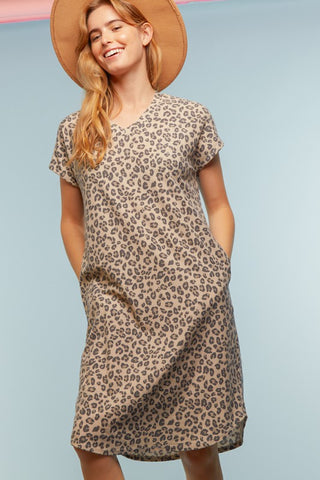Shelby Cheetah Dress