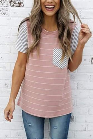 Lizzy Striped Tee