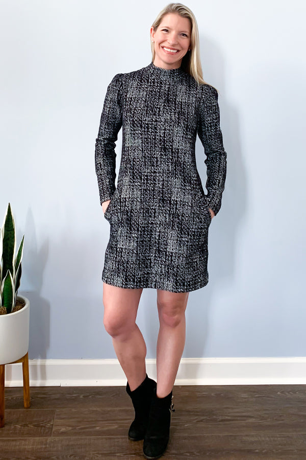 Veronica M Long Sleeve Shift Dress With Pockets. Veronica M Dresses.